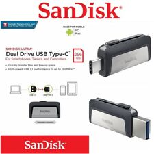 Type C USB SanDisk 256GB OTG Dual USB 3.1 Flash Drive Stick PC Thumb Mac Samsung
