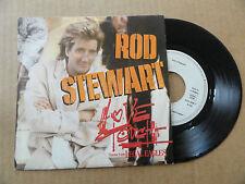 "DISQUE 45T DE  ROD STEWART   "" LOVE TOUCH  "" PRESSAGE ALLEMAND"