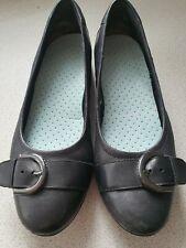 Clarks Flat Black Shoes Size 6D