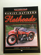 RARE HARLEY DAVIDSON FLATHEAD 74 80 45 + motorcycle racing parts barn find book