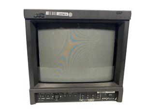 JVC DT-V100 HD SDI CRT Monitor Gaming / Broadcast monitor