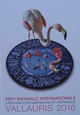 LIVRE/BOOK  CREATION CONTEMPORAINE ET CERAMIQUE VALLAURIS 2016 (design porcelain