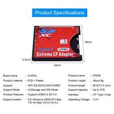 SD Converter To CF Card Case Secure Digital Memory Card Adapter Camera Computer
