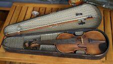 Alte Geige Violine mit Geigenbogen 59,4 cm Nachbau von