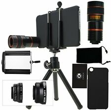 CamKix Camera Lens Kit for iPhone 6 Plus / 6S Plus including an 8x Telephoto