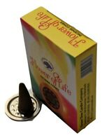 Green Tree Flower of Life Incense Cones (Single Pack - 10 Cones)