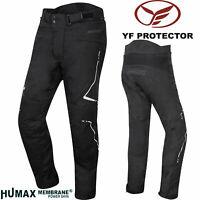 GERMOT Motorradhose EVOLUTION PRO Humax CE hohe Taille YF-Protektoren Kurz-7XL