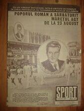 Sports Magazine 1984 Gymnastics LA Olympic Champions Parade & Nadia Comaneci