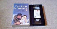 THE LION IN WINTER UK PAL VHS VIDEO Peter O'Toole Katharine Hepburn John Barry
