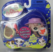 Littlest Pet Shop Special Edition #830 pink mop hair sheep dog puppy new in pack