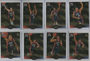 90'S INSERTS LOT (8/10) 1996 UPPER DECK USA DIE CUT GOLD SP PENNY PIPPEN 1:27