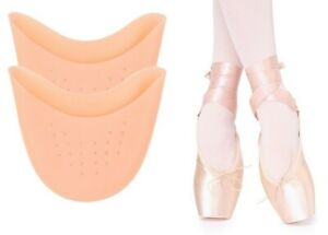 FootTrek Ballet Dance Silicone Gel Pointe Shoe Toe Protector Pads Ouch Pouch