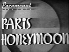 PARIS HONEYMOON (DVD) - 1939 - Bing Crosby, Franciska Gaal