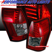 Set of Pair Red LED Taillights for 2005-2008 Dodge Magnum and Europe 300C Wagon