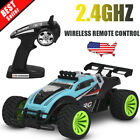 2.4Ghz Wireless Remote Control High Speed Electric RC Offroad Car Truck US STOCK