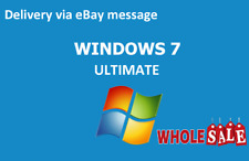 Wholesale Windows 7 Ultimate SP1 32/64 Bit -Support Upgrade - License Key Code;