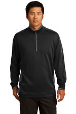 Nike Golf Dri-Fit 1/2-Zip Cover-Up 578673 Black / Dark Grey - Size Xlarge - Nwt
