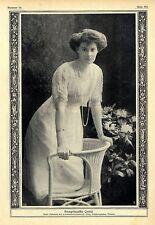 Kronprinzessin Cecilie Auguste Marie Herzogin zu Mecklenburg c.1912