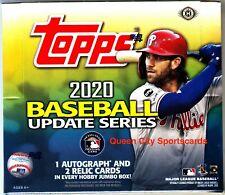 2020 Topps Update Series Baseball Factory Sealed Jumbo Box