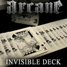 Mazzo di carte Bicycle Arcane White - Invisible Deck by Ellusionist