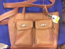 GUN TOTE'N MAMAS Concealed Carry Cargo Pocket Tote #GTM-86/Camel