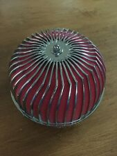 """APC Vortex Universal Racing Style 3"""" Mushroom Intake Air Filter And Clamp Red"""