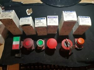 GE GENERAL ELECTRIC PUSH BUTTON SWITCHES P9/MLAD/MEC4RN95/DPLVRG00//MET4RL1
