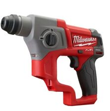 Milwaukee 2416-20 M12 combustible 12 voltios 5/8' SDS Plus Martillo Perforador-herramienta desnudo