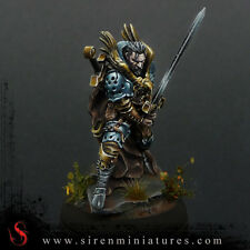 Syle - Fantasy knight miniature in 32 mm scale for tabletop and board games