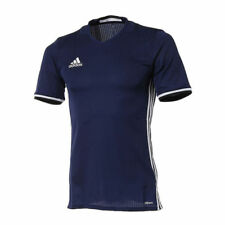Adidas Youth Junior Condivo 16 Jersey S/S Training Top Shirt (Dk. Navy) (Small)