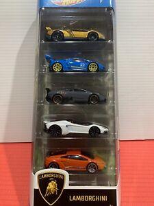 Hot Wheels Lamborghini 5 Pack HTF