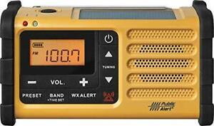 Sangean MMR-88 AM/FM/Weather+Alert Emergency Radio. Solar/Hand