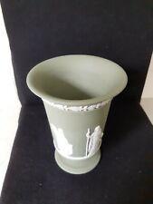 Wedgewood Green Etruscan Vase