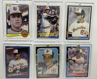 9 card CAL RIPKEN Jr Lot 1983 1984 1985 Topps & Donruss Baltimore Orioles
