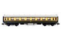 Dapol 2P-000-058 N Gauge Collett Coach GWR Chocolate/Cream Composite 7032