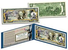 BANKSY ANTI-WAR $2 Bill Legal Tender Banknote Street Art Graffiti