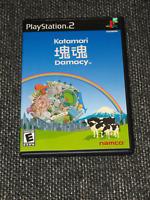 """Katamari Damacy"" PS2/BL/Complete/Mint Disc/Misprint Fact. Sticker  Ships Boxed!"