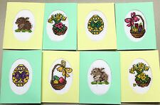 EASTER SET OF 8 - CROSS STITCH CARDS KIT
