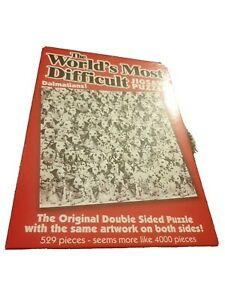 Worlds Most Difficult 529 Piece Dalmation Dog  Jigsaw Puzzle