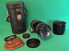 Pentax TAKUMAR 1:3.5/200mm Lens. Pro. Serviced, Extras...Collector Alert! RARE!!