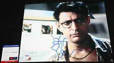 Jeff Goldblum signed 11 x 14 Jurassic Park, Fly, Deep Cover,Independence Day,PSA