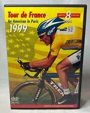 1999 Tour de France 4 Dvd Set World Cycling Productions 8 Hour Limited Edition