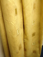 B/N single Static Caravan Curtain,fully lined,soft gold cotton print,50 w x 72L