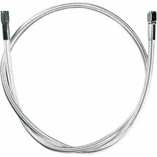 Magnum Polished Stainless Braided Universal Brake Line  12in. L 5512*