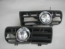VW GOLF 4 MK4  RABBIT 1997-2006 BUMPER FOG LIGHTS LAMPS GRILLS