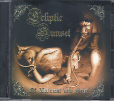 ECLIPTIC SUNSET-OF TORMENT AND GRIEF-CD-mystic circle-death-black