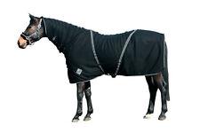 Catago Fleecedecke mit Halsteil 115cm schwarz decke