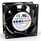 110V / 115V / 120V AC Cooling Fan. 80mm x 38mm HIGH SPEED (HS8038A)