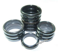 Wholesale Lots 100pcs Genuine Magnetic Hematite Health Jewelry Rings