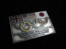 1964 TOKYO OLYMPIC PIN BADGE ATHLETIC MEETING OSAKA JAPAN PINS